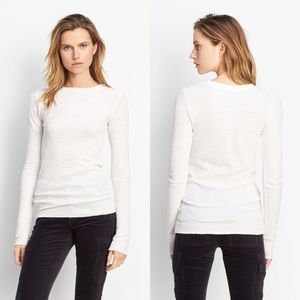 NWT Vince Long Sleeve Thermal Crew